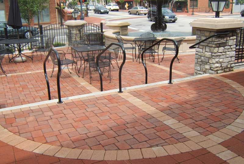 clay-fired pavers