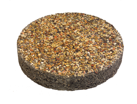 Round Exposed Aggregate