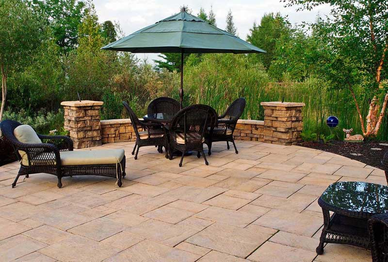 3. What advice do you have about selecting the color / shape for an outdoor space?