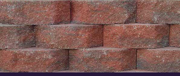 Terra Cotta Block : Romanstone caesar beveled