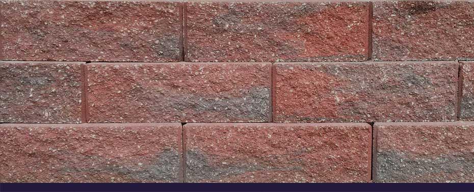 Terra Cotta Block : Romanstone caesar straight
